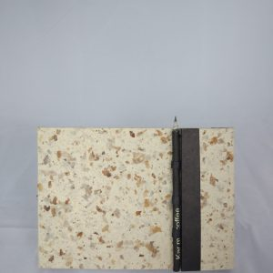 Coffeepaper Notebook w/ recyled pencil, medium