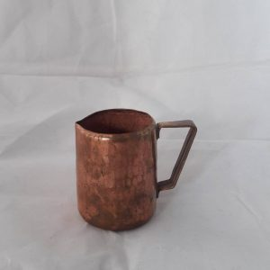 Handhammered Milkpot Newa, Copper